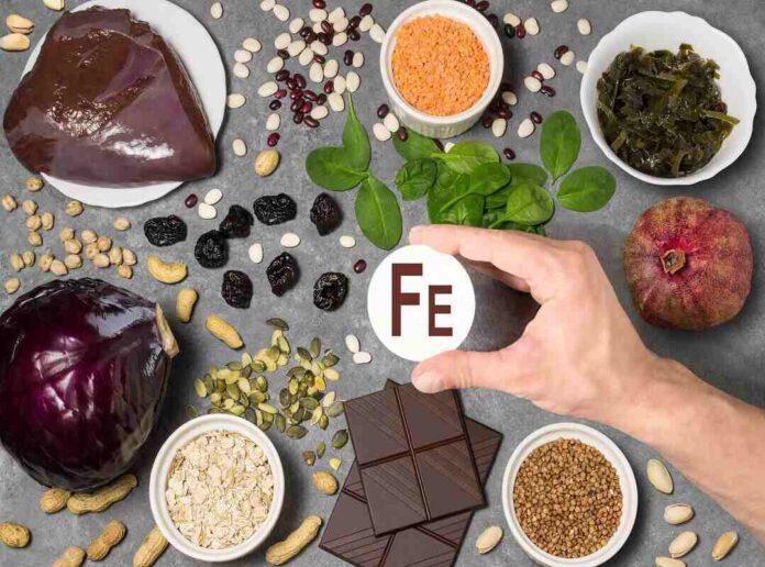 Alimenti ricchi di ferro: anemia, tabella, vegetariani, in gravidanza