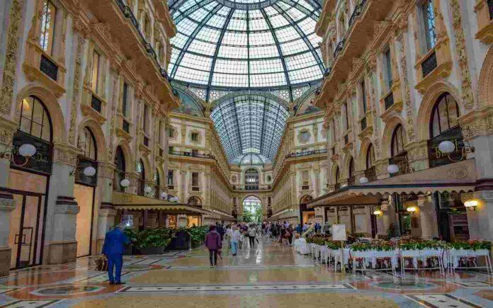 milano-galleria-ristorante-cracco-installazione